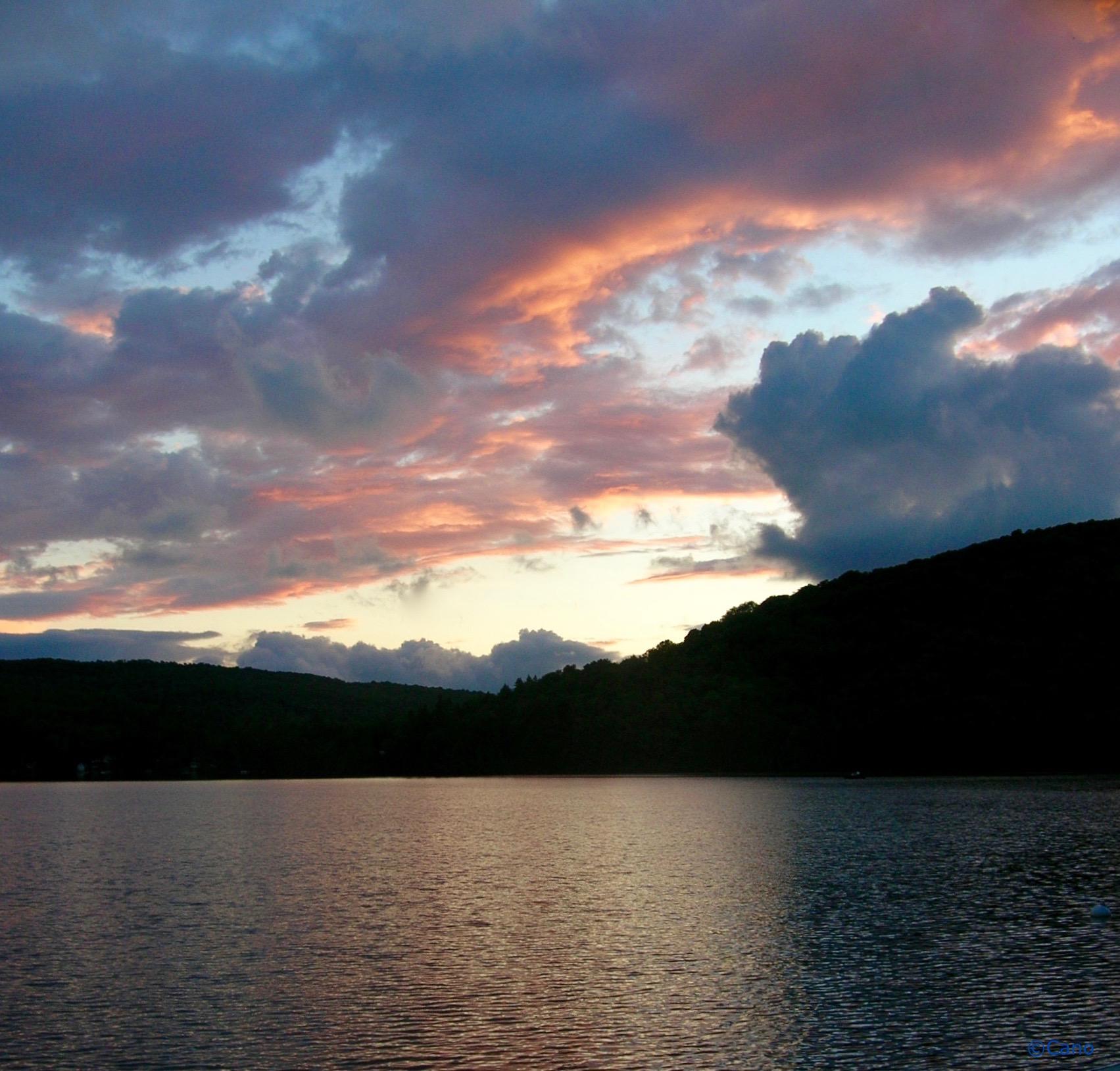 mystery sunset