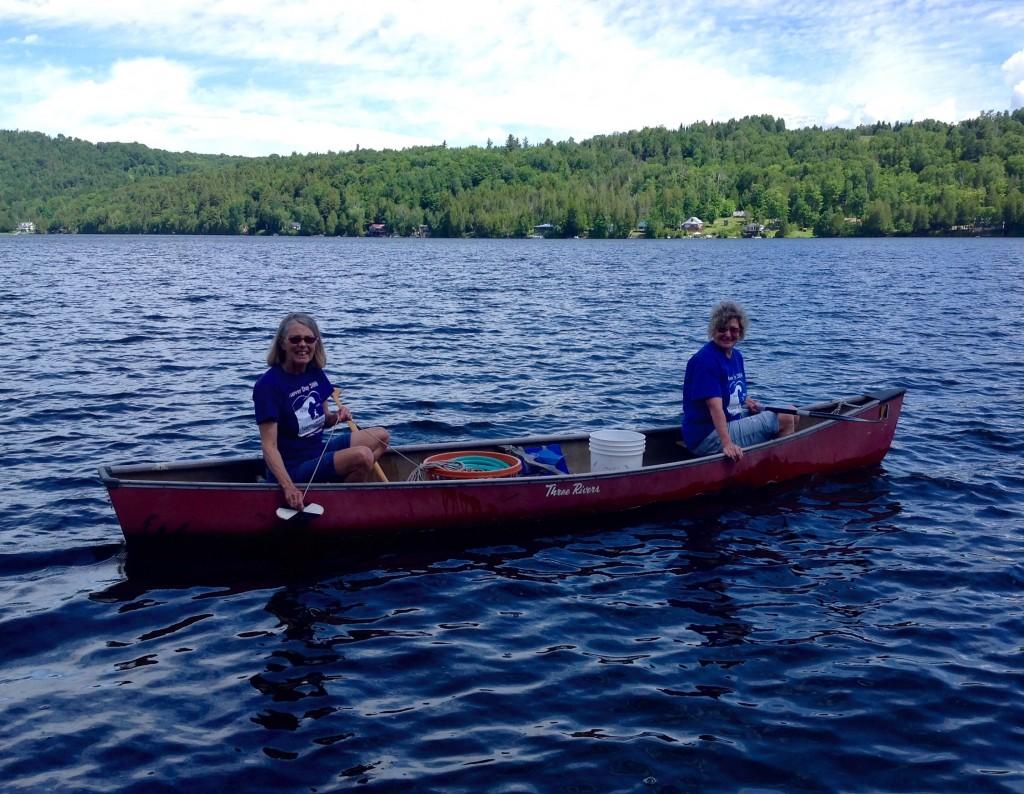 Sara Gluckman and Kris Trevits. Shadow Lake, June 2015