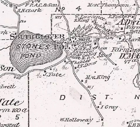 Beers map 1878